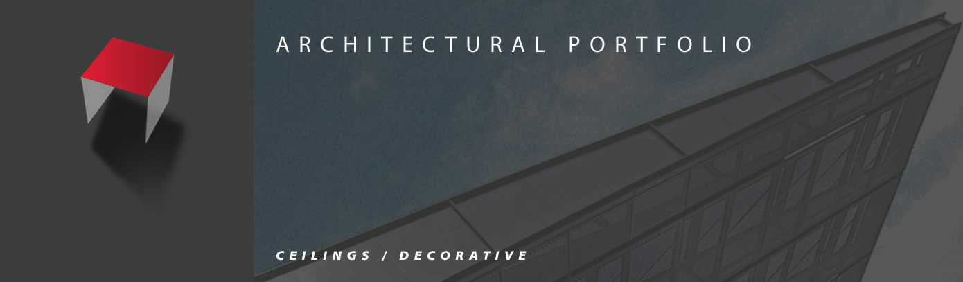 ARCH-Header Ceilings Decorative
